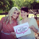 Celiac Disease Foundation East Valley Chapter Garden Beauty Party 2015 with Red Apple Lipstick