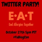 End Allergies Together TWITTER PARTY!