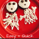 Halloween Ghost Cookies with Glutino from Celiac and the Beast