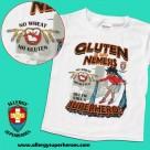Gluten is my Nemesis SHIRT for gluten-free kids
