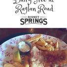 Gluten Free and Dairy Free at Disney Springs Raglan Road