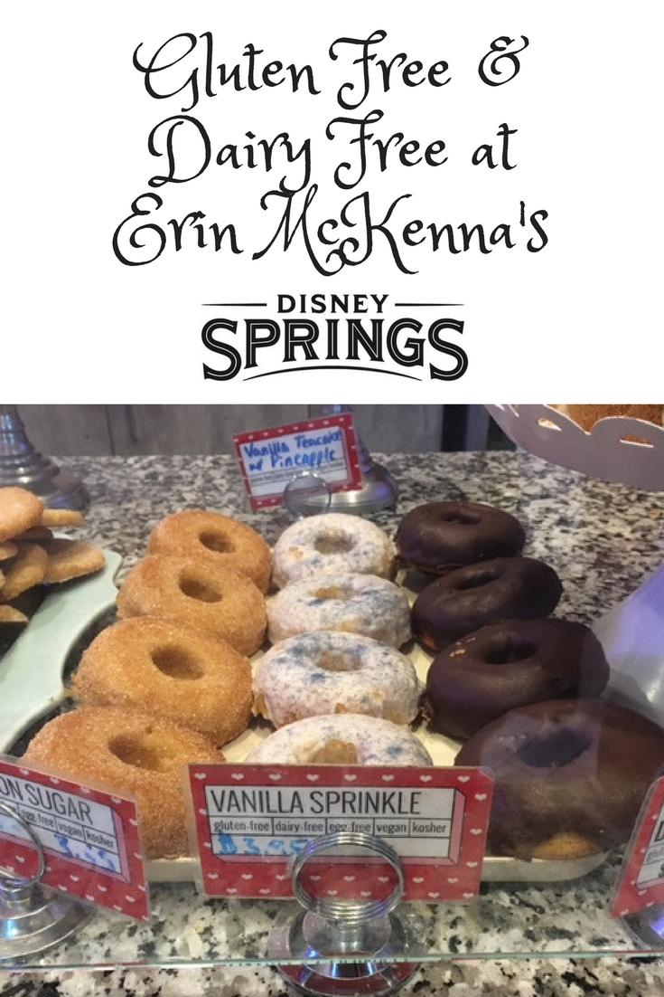 Gluten Free Dairy Free At Erin Mckenna S Bakery At Disney