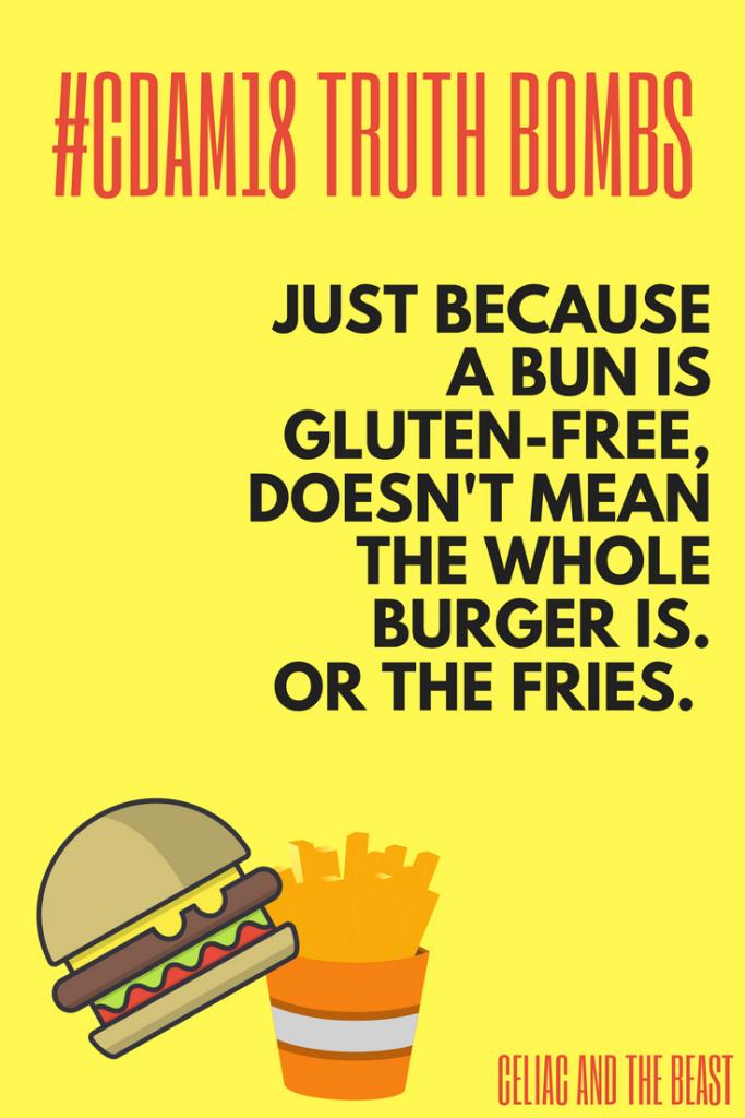 GF 101 Cross Contamination on a Gluten Free Diet #CDAM18