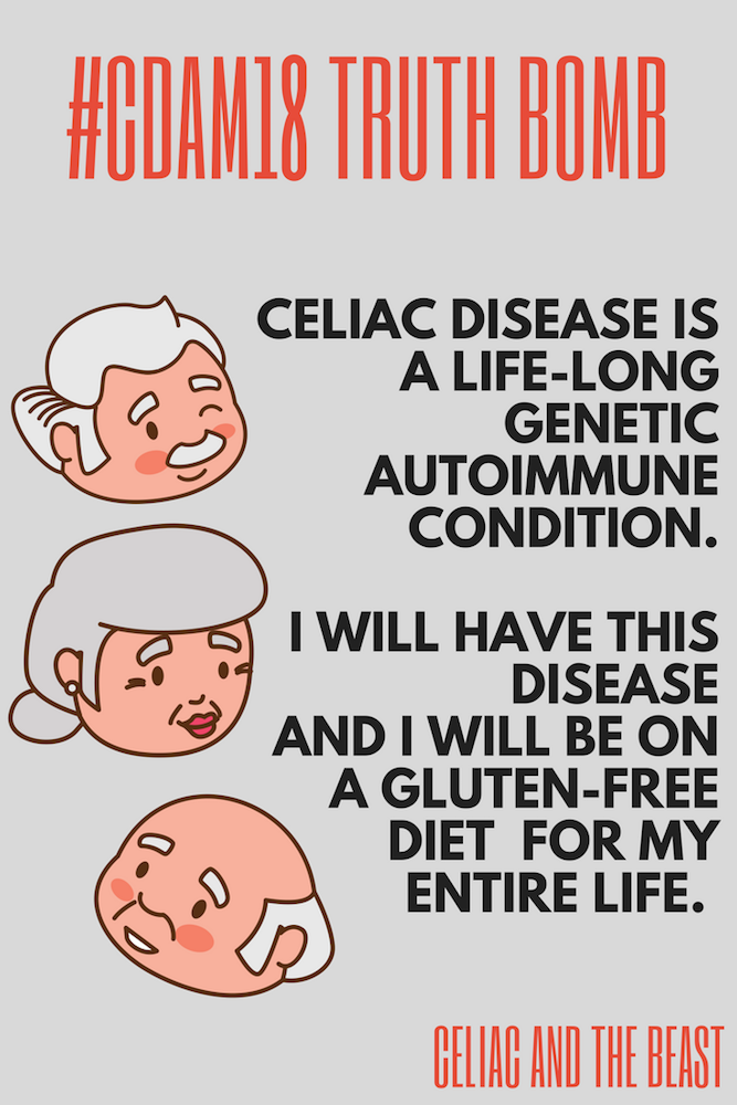 GF 101: Celiac is A Life Long Medically Necessary Diet
