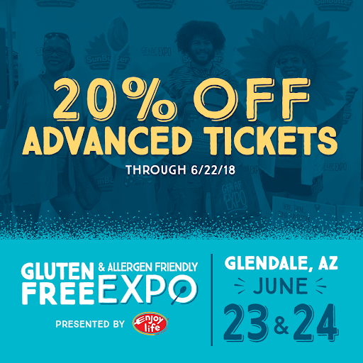 Take 20% off with code for Phoenix GFAF Expo 2018