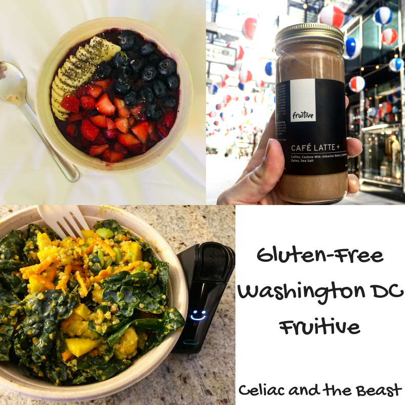 Gluten-Free Washington DC Fruitive