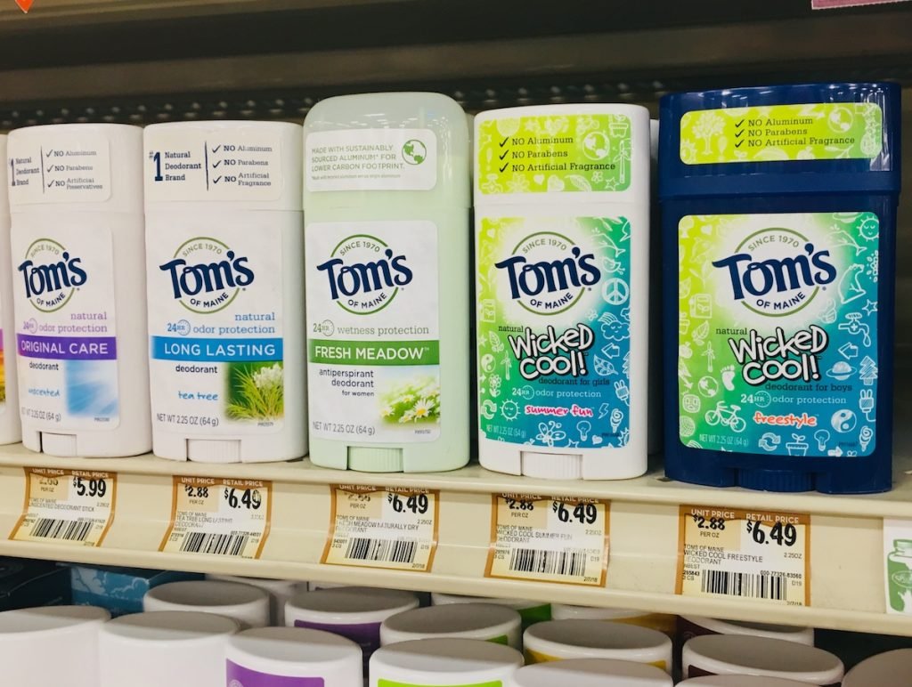 Tom's of Maine Teen Deodorant at Sprouts