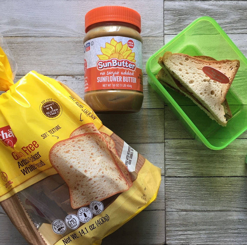Vitacost Back to School with Schar and SunButter