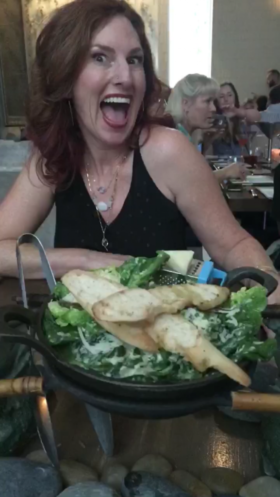 GFF LA Schar Salad with Alison