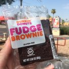 Dunkin' Donuts Fudge Brownie