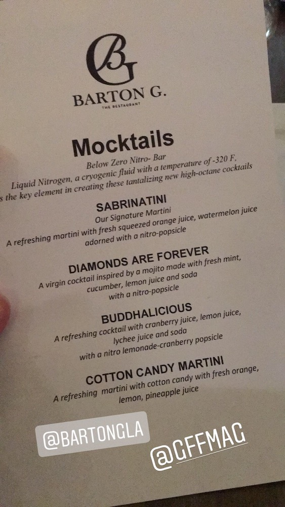 Barton G Mocktail