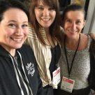 Erica, Meg, and Erika of GFF Magazine