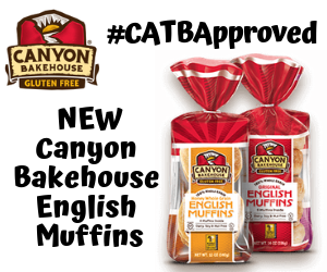 #CATBApproved Canyon Bakehouse NEW English Muffins