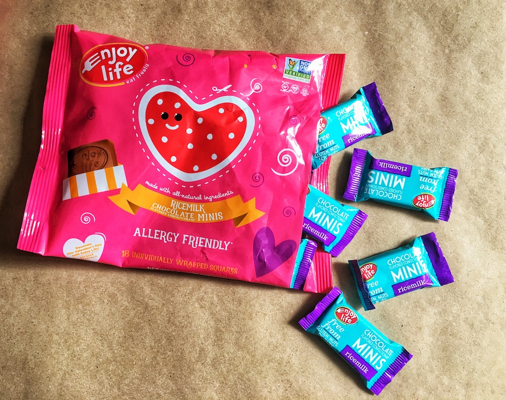 Enjoy Life Foods Ricemilk Chocolate Minis Valentine's Day