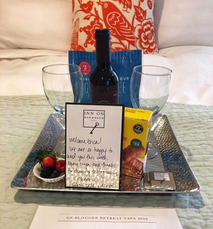 Inn on Randolph Bed and Breakfast Welcome Gift