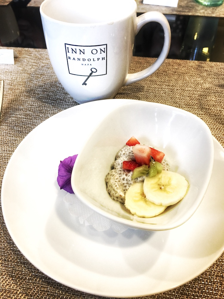 Inn on Randolph Gluten Free Breakfast Chia Seed Porridge