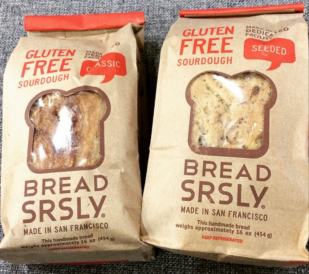 Bread SRSLY Retro Packaging