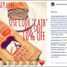Celiac and the Beast Instagram