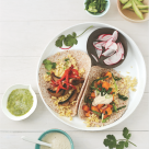 Amie Valpone Eating Clean Millet Tacos
