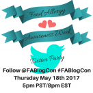 Food Allergy Awareness Week Twitter Party FABlogCon