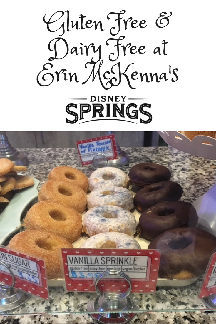 Gluten Free Dairy Free At Erin Mckenna S Bakery At Disney