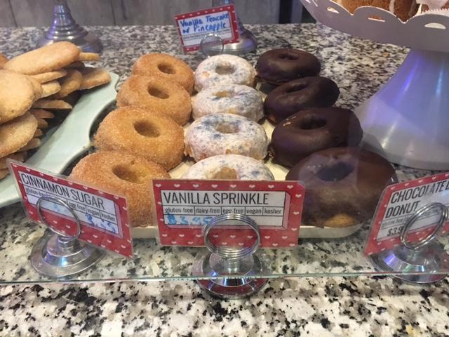 Gluten Free Dairy Free Donuts at Erin McKenna's Bakery