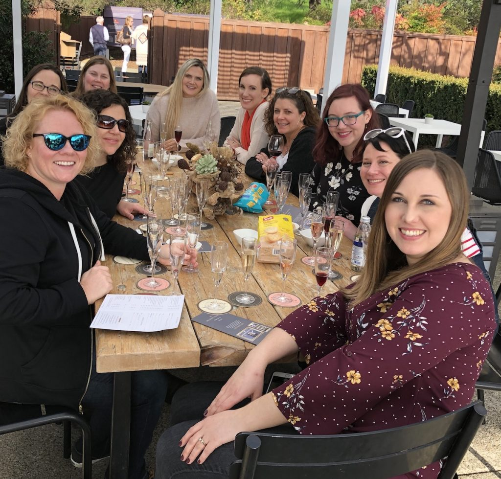 mumm group wine tasting