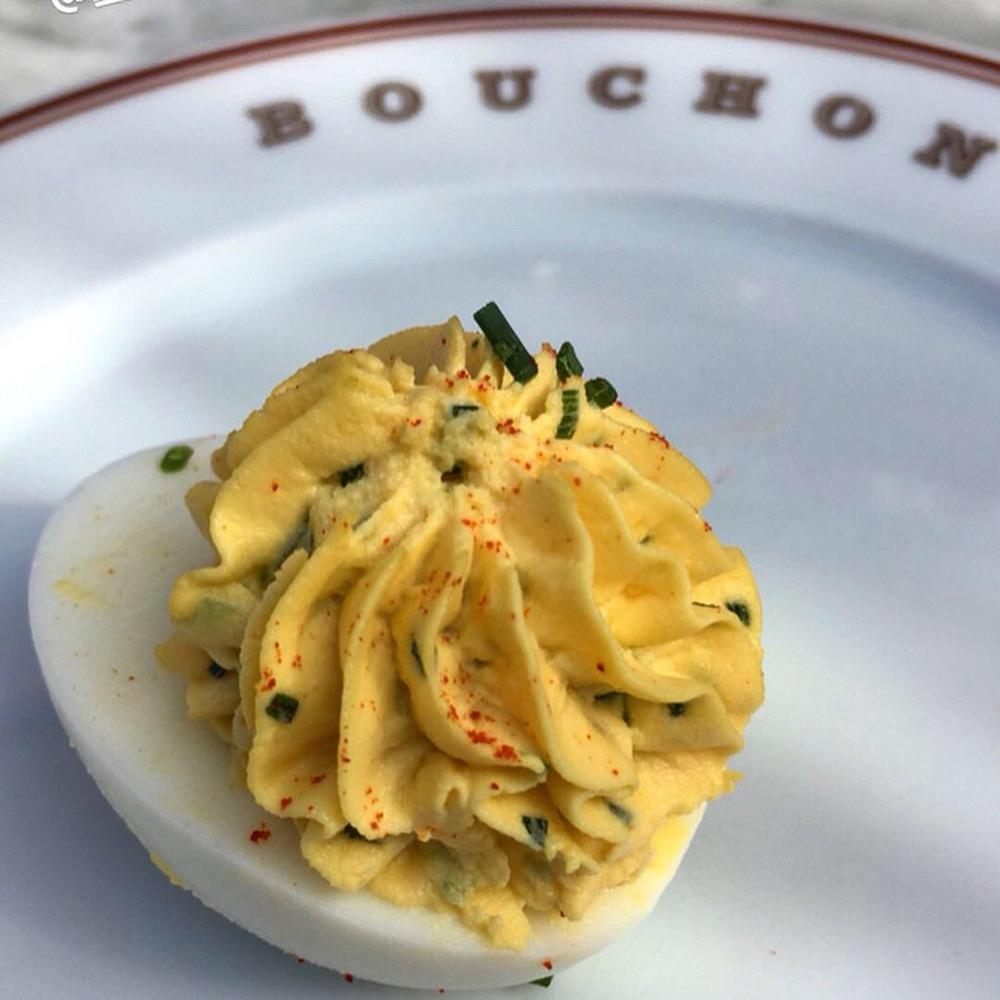 Bouchon Bistro Deviled Egg