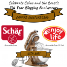 CELEBRATE CELIAC AND THE BEAST'S 7TH YEAR ANNIVERSARY
