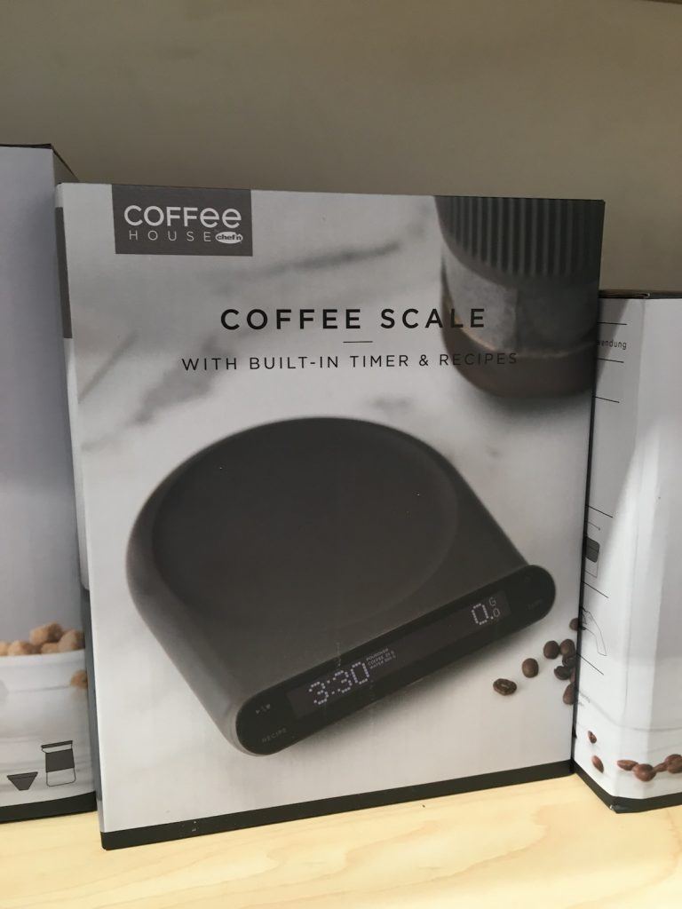 IHHS Chef'n Coffee House Coffee Scale