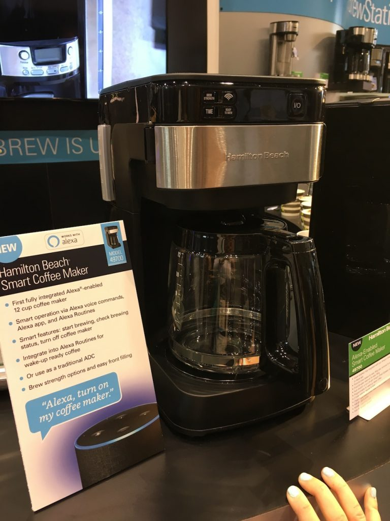 IHHS Hamilton Beach Alexa Enabled Smart Coffee Maker