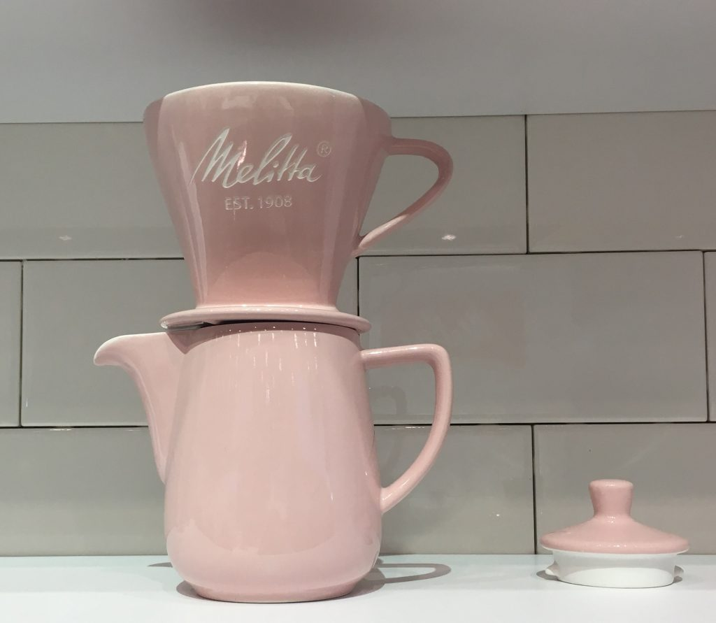 IHHS Melitta Pour Over Set Pink
