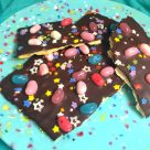 Gluten-Free Spring Bark Jellybeans and Sprinkles