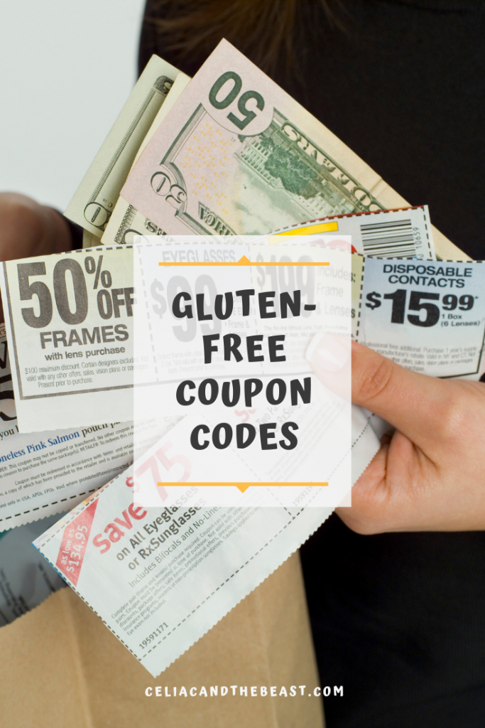 gluten-free coupon codes