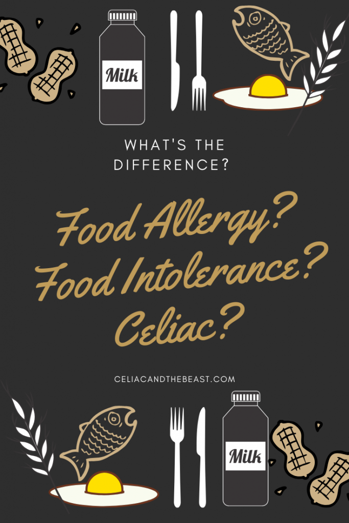 What's the difference between a food allergy and a food intolerance?