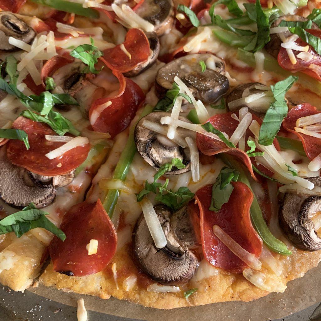 Senza Gluten Pizza Crust