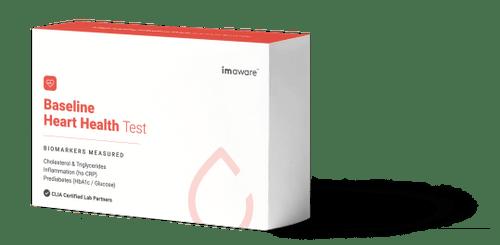 imaware baseline heart health test box